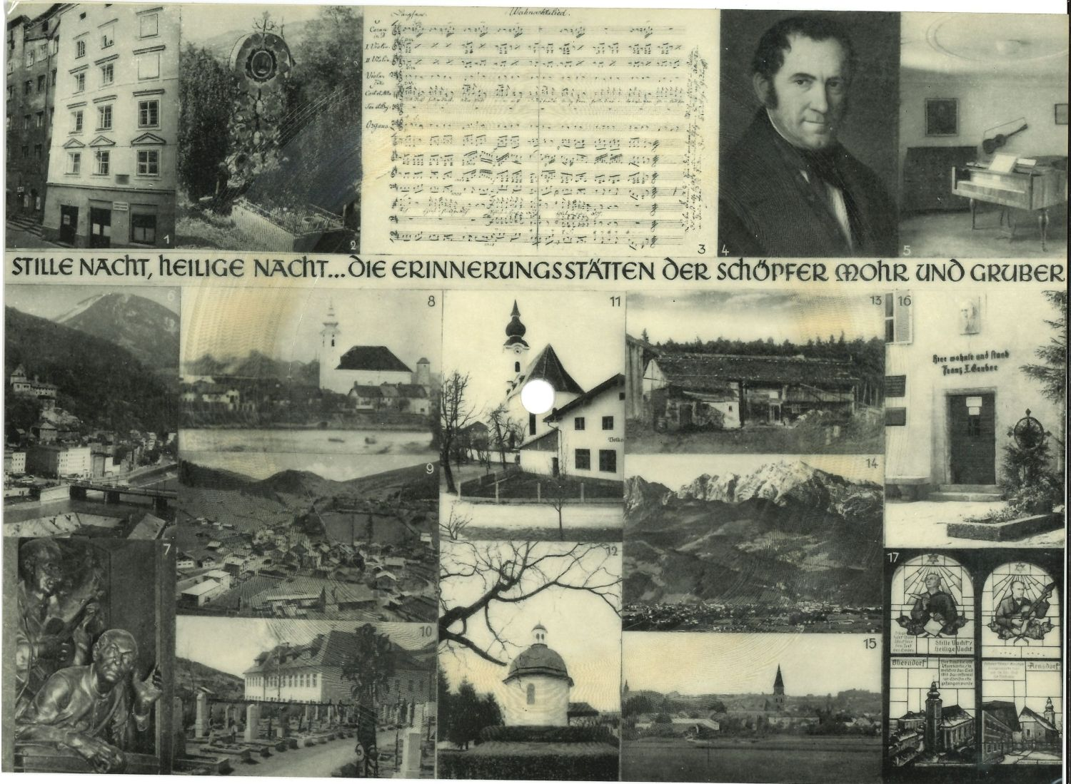 Picture cards with sound, 1955–60, 1955–60, Sammlung Prosinger, Mariapfarr