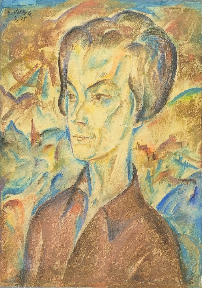 Portrait, Georg Jung, 1925, inv. no. 566-75
