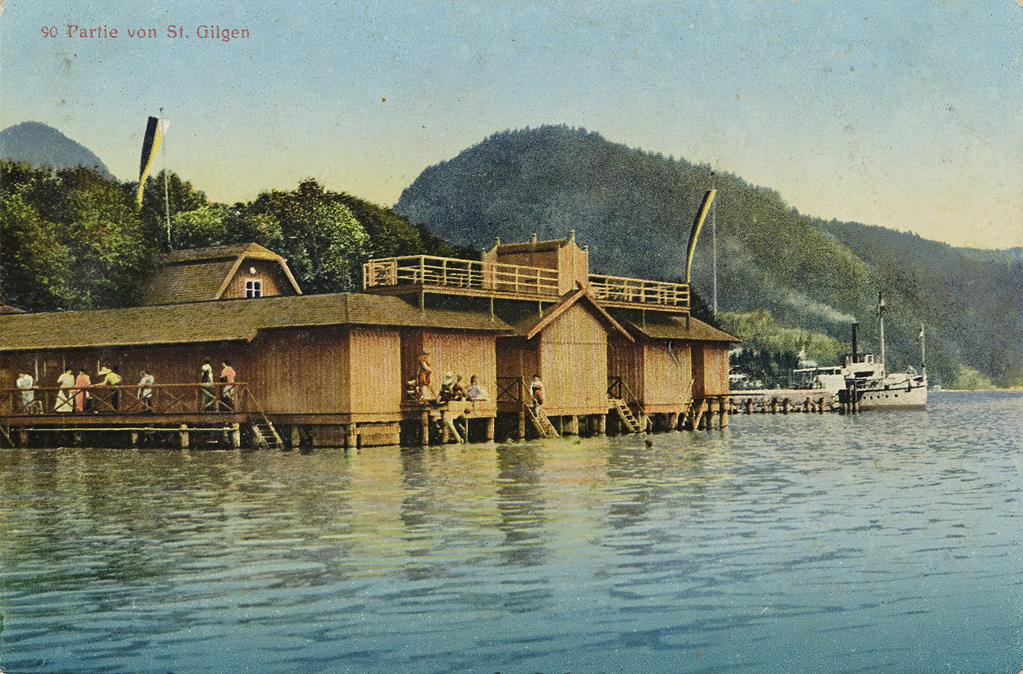 Boathouse in St. Gilgen am Wolfgangsee, 1907–14, inv. no. F 23097