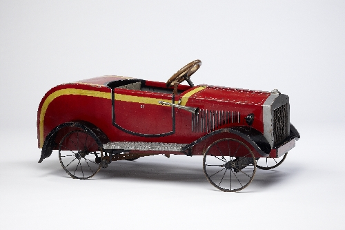 Pedal car, made by: Franz Bischof, 1931, wood, metal, inv. no. 6021-92