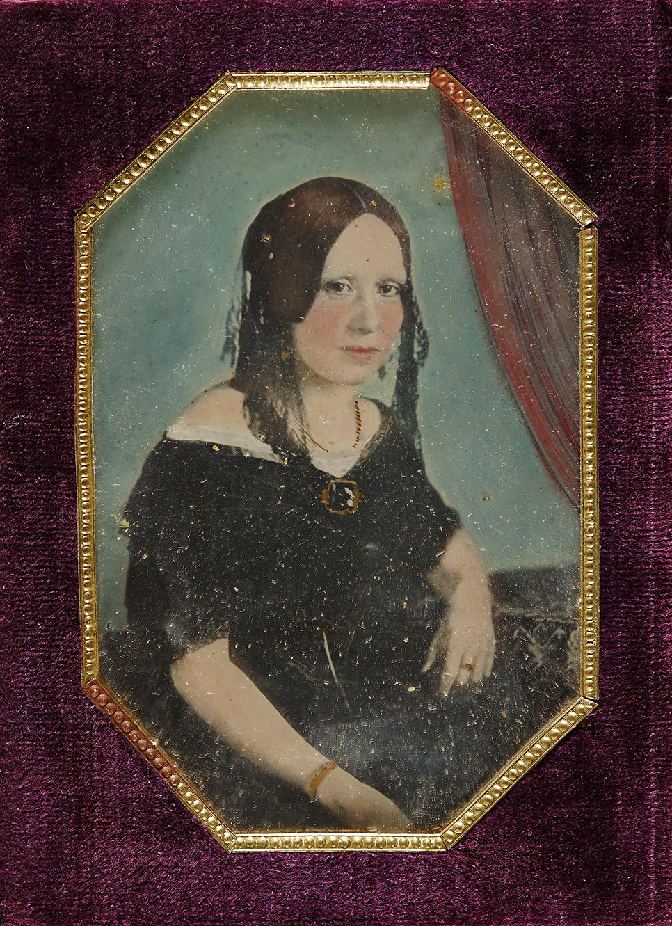 Young lady from the Storch family, ca. 1850, inv. no. F 17132