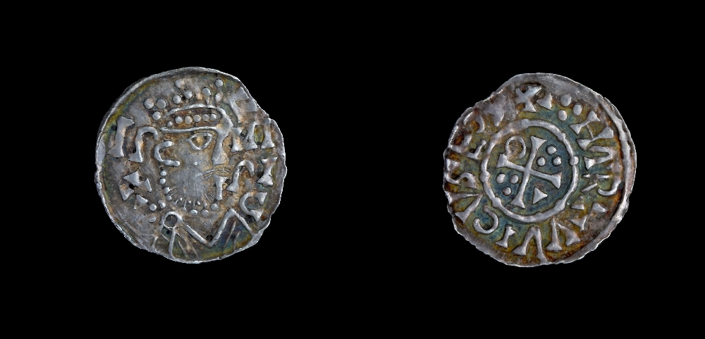 1 denar, minting authority: King Henry II/Hartwig, silver, inv. no. MÜ 18.021