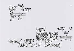 John Cage, Water Music, 1952, Partitur, Frankfurt: Edition Peters No. 6770, Privatarchiv, Salzburg
